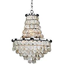 8-seashell-themed-chandelier Beach Themed Chandeliers