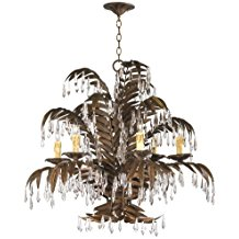 9-palm-tree-chandelier Beach Themed Chandeliers