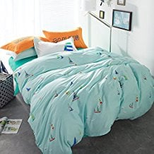 Chill-Sailboat-Duvet-Cover-Set 100+ Nautical Duvet Covers and Nautical Coverlets
