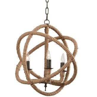 Corsair-Rope-Foyer-Pendant-Chandelier Beach Themed Chandeliers