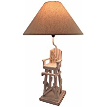 Lifeguard-Chair-Beach-Table-Lamp 100+ Beach Themed Lamps