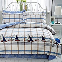 Mumgo-Home-Collection-Bedding-Set 100+ Nautical Duvet Covers and Nautical Coverlets For 2020