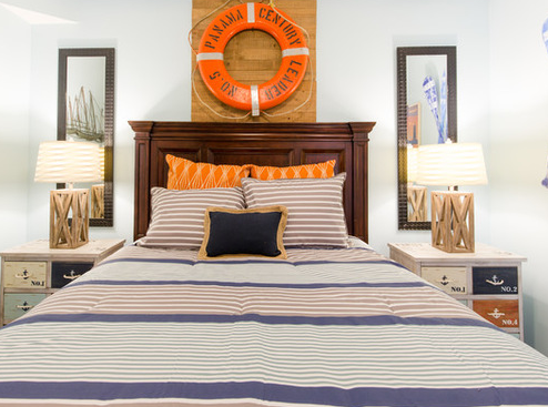 Nautical-Beach-Bedroom Beach Duvet Covers & Coastal Duvet Covers
