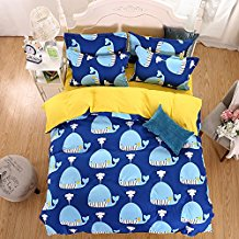 OWLHT-3-Pieces-Bedding-Sets-for-Unisex-1-Duvet-Cover 100+ Nautical Duvet Covers and Nautical Coverlets For 2020