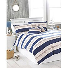 Riva-Home-Reef-Duvet-Sheet-and-Pillowcase-Set 100+ Nautical Duvet Covers and Nautical Coverlets For 2020