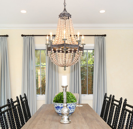 Beach Coastal Chandelier Kitchen 4 Themed Chandeliers