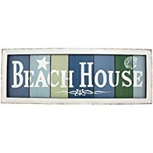 beach-house-slat-wood-sign-7 Beach Wall Decor