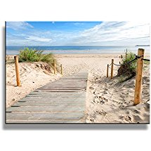 beach-themed-artwork-sand-ocean Beach Wall Decor