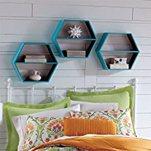 coastal-blue-natural-wall-shelf The Best Beach Wall Decor You Can Buy