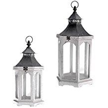 distressed-wooden-lantern Nautical Lanterns & Beach Lanterns