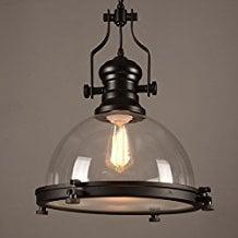 glass-bowl-nautical-pendant-light Nautical Pendant Lights