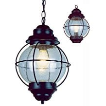 hanging-lantern-pendant-light 100+ Nautical Pendant Lights and Coastal Pendant Lights For 2020