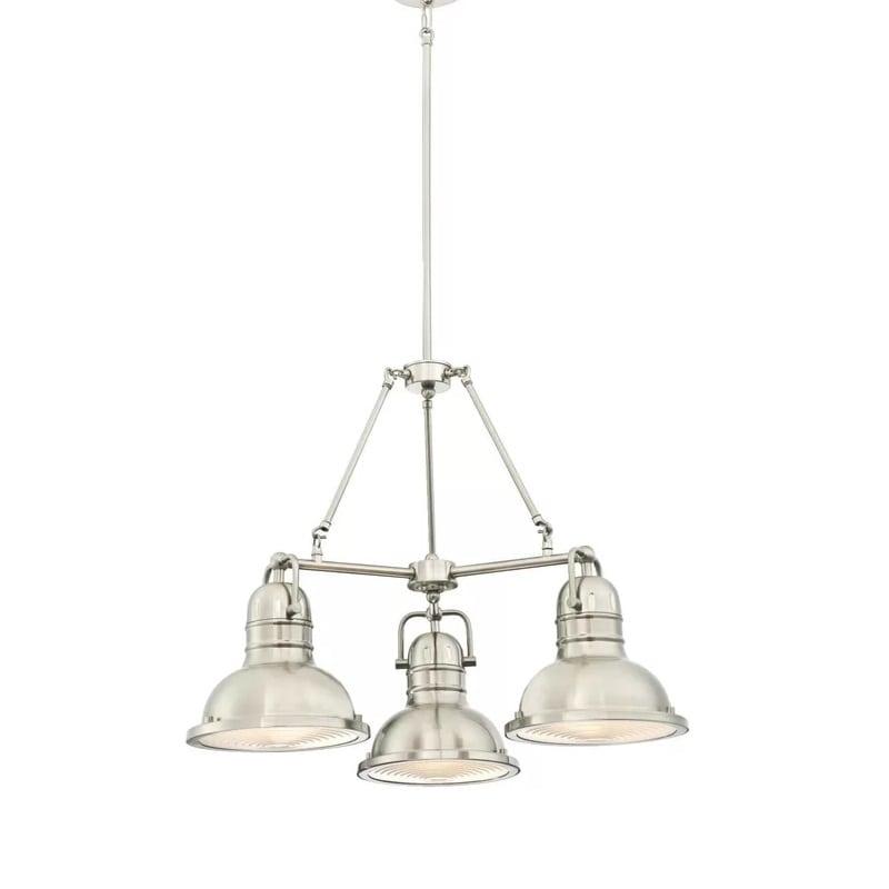 indoor-3-light-nautical-silver-chandelier Nautical Chandeliers
