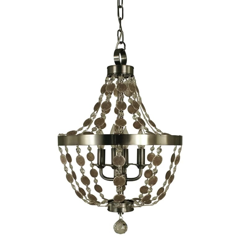 nautical-4-light-empire-chandelier Nautical Chandeliers