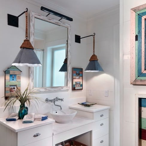 nautical-bathroom-lighting 100+ Beautiful Nautical Themed Chandeliers For 2020