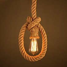 twisted-rope-pendant-light 100+ Nautical Pendant Lights and Coastal Pendant Lights