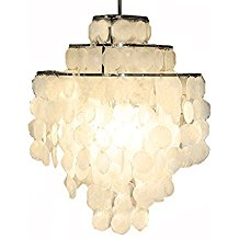 Aero-Snail-3-Light-Round-Chandelier-with-Round-Capiz-Seashells-128 Capiz Shell Chandeliers