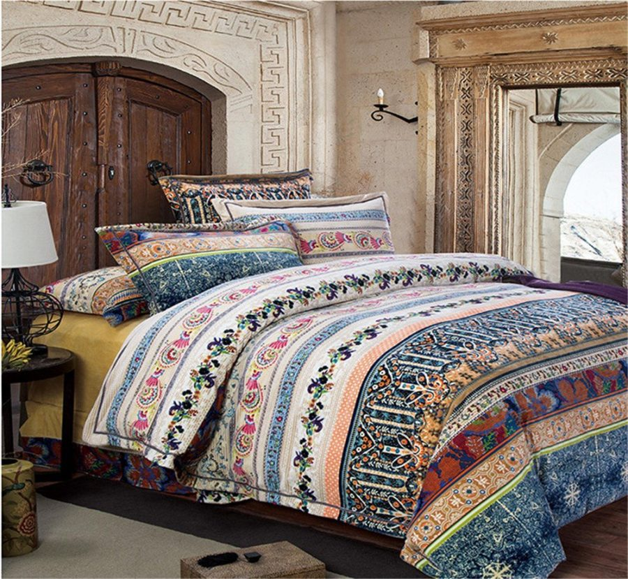 Auvoau-Home-TextileBoho-Style-Bedding-Setbohemian-bedding-set Bohemian Bedding and Boho Bedding Sets