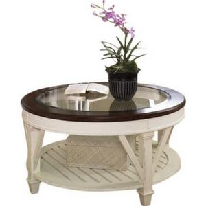 Demaree-Coffee-Table-Glass-Top-Coastal Beach Coffee Tables and Coastal Coffee Tables