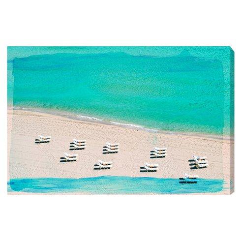 Dream-Beach-Painting-Print-on-Canvas Beach Paintings and Coastal Paintings