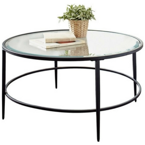 Harlan-Round-Coffee-Table Beach Coffee Tables and Coastal Coffee Tables