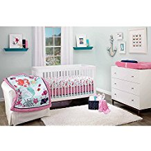 Little-Mermaid-3-Piece-Crib-Bedding-Set Nautical Crib Bedding & Beach Crib Bedding Sets