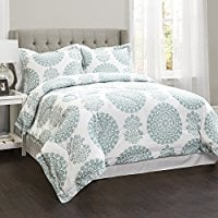 Lush-Decor-16T000741-Evelyn-Medallion-4Piece-Comforter-Set Bohemian Bedding and Boho Bedding Sets