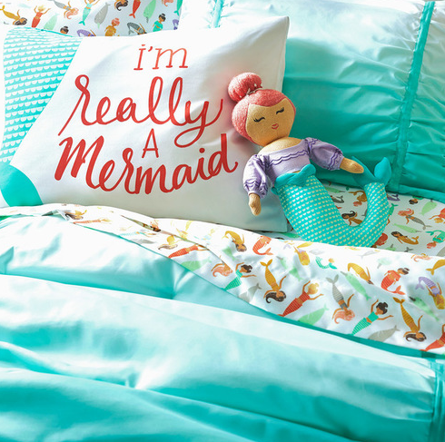 Mermaid-Bedding-Collection-Pillowfort™ Mermaid Bedding Sets and Mermaid Comforter Sets