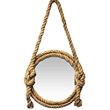 Old-Fishermans-Round-Rope-Mirror Rope Mirrors and Rope Hanging Mirrors