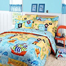 Pirates-of-the-Caribbean-Duvet-Cover-Set Pirate Bedding Sets and Pirate Comforter Sets