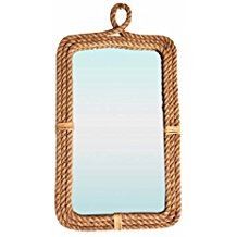 Rectangular-Rope-Mirror Rope Mirrors and Rope Hanging Mirrors
