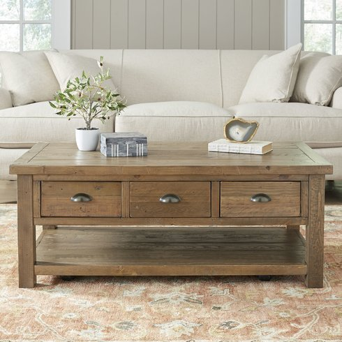 Seneca-Coffee-Table Beach Coffee Tables and Coastal Coffee Tables