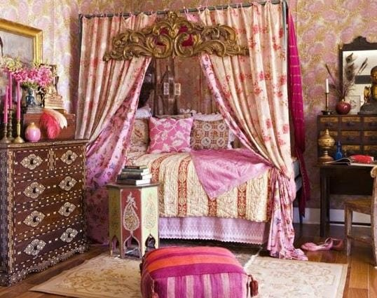 Shabby-Boho-Chic-Style-Bedroom Bohemian Bedding and Boho Bedding Sets