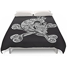 Society6-A-Pirate-Adventure-Duvet-Covers Pirate Bedding Sets and Pirate Comforter Sets