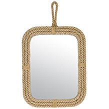 Stonebriar-Vertical-Rectangle-Rope-Mirror-for-Wall Rope Mirrors and Rope Hanging Mirrors