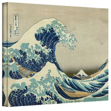 The-Great-Wave-of-Kanagawa-Beach-Painting Beach Paintings and Coastal Paintings