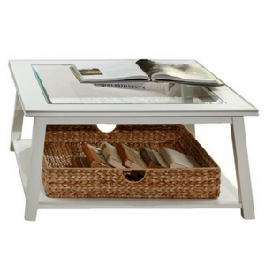 Trinity-Coffee-Table-Glass Beach Coffee Tables and Coastal Coffee Tables