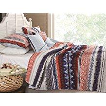 Urban-Boho-Quilt-Set-3-Piece-FullQueen 100+ Best Bohemian Bedding and Boho Bedding Sets For 2020
