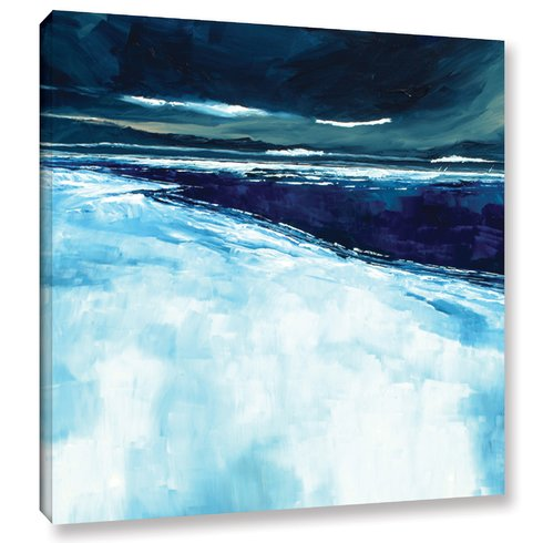 Winter-Beach-Painting-Print-on-Wrapped-Canvas-by-Breakwater-Bay Beach Paintings and Coastal Paintings