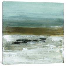 abstract-beach-horizon-painting Beach Paintings and Coastal Paintings