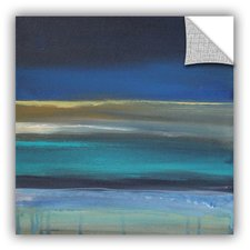 abstract-beach-painting-print Beach Paintings and Coastal Paintings