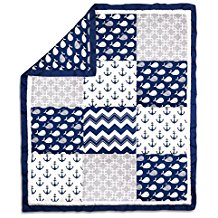 anchor-baby-crib-quilt Anchor Bedding Sets and Anchor Comforter Sets