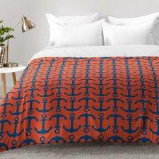 andrea-victoria-ahoy-anchors-comforter-set Anchor Bedding Sets and Anchor Comforter Sets