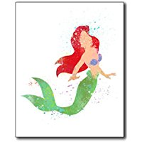 ariel-the-little-mermaid-disney-art-prints Mermaid Wall Art and Mermaid Wall Decor