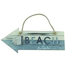 arrow-pointing-finger-shaped-beach-wooden-sign The Best Wooden Beach Signs You Can Buy