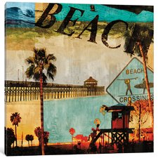 beach-culture-painting-canvas-print Beach Paintings and Coastal Paintings