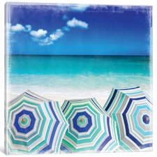 beach-gathering-canvas-art Beach Paintings and Coastal Paintings