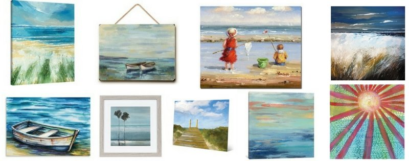 The Best Beach Paintings You Can Buy