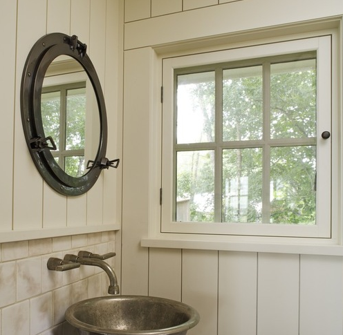 boathouse-hideaway Porthole Themed Mirrors