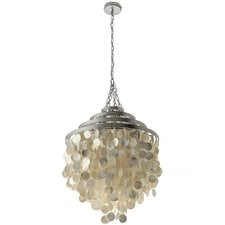capiz-seashell-2-light-crystal-chandelier Capiz Shell Chandeliers